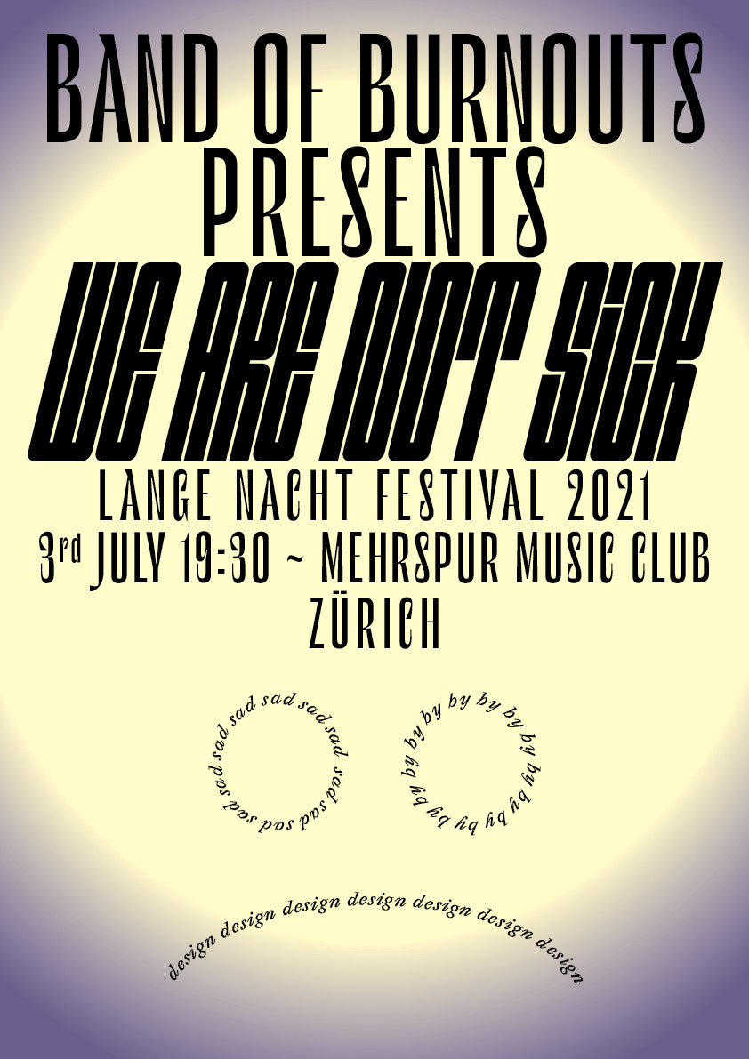 Presenting 'We Are Not Sick' at Lange Nacht Festival
